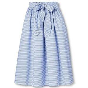 Nwt Vineyard Vines Skirt Blue Stripe